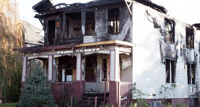 after fire clean up company / fire damage restoration smoke cleanup/ fire extinguisher foam /soot & odor clean up elimination